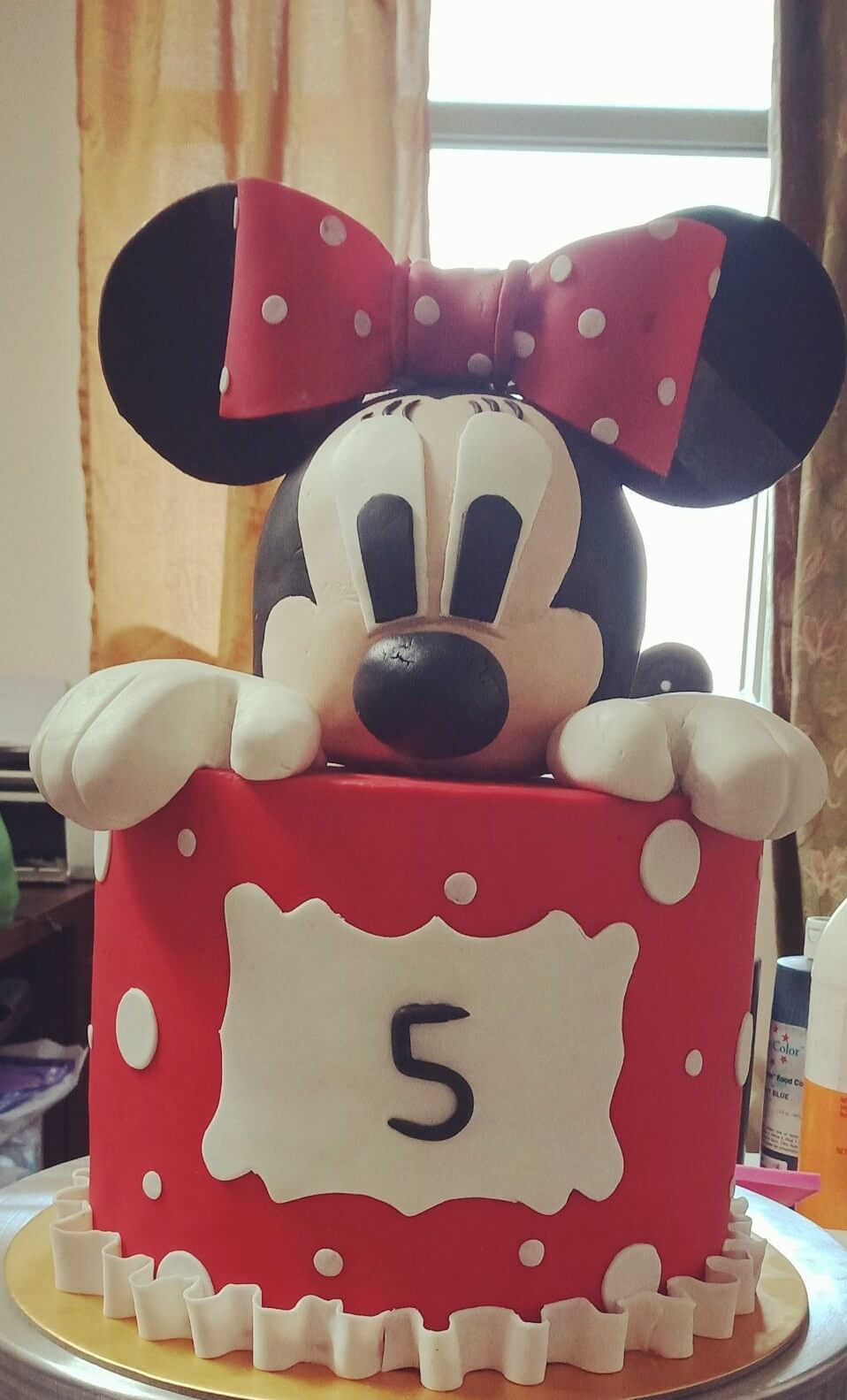 minne mouse cake hyderabad,fondant cake for girls,fondant cakes hyderabad, birthday cakes hyderabad
